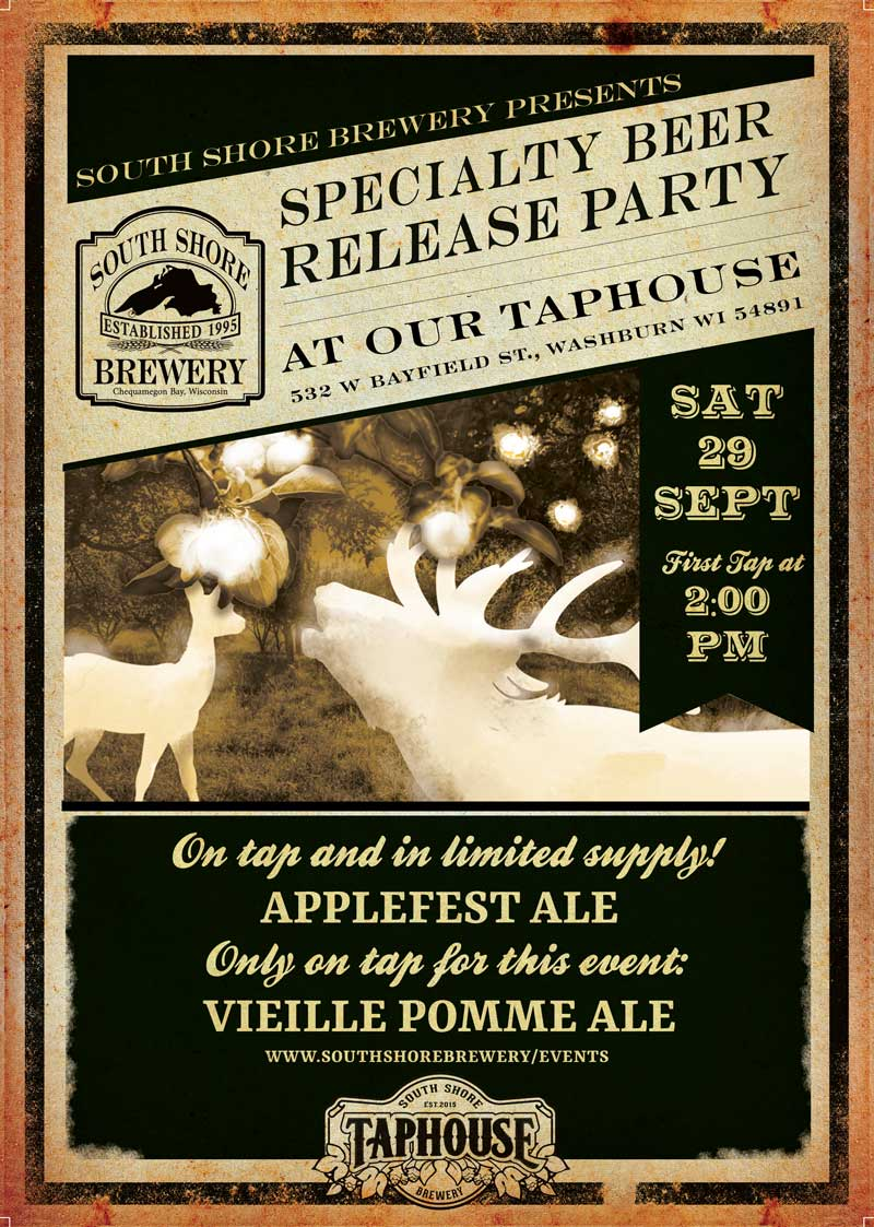 Applefest Ale Release Party Flyer
